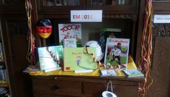 Bücherei im Mai Euro 2016